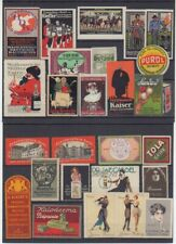 german Poster stamps collection, cinderellas, 3 pictures Q11