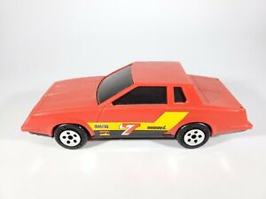 Buddy L 1981 Red Monte Carlo with Tinted Windows Plastic Car