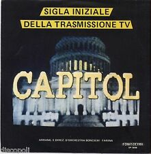 """GIAMPIERO BONESCHI SERGIO FARINA - Capitol - VINYL 7"""" 45 LP 1983  NM COVER VG+"""