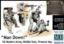 MAN DOWN! U.S. MODERN ARMY INFANTRY (HUMVEE/MRAP CREW) #35170 MASTERBOX