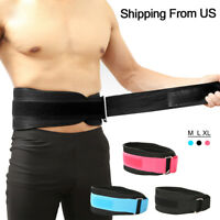 Weight Lifting Dipping Belt Exercise back support Fitness Gym Body Building Belt