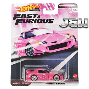 Hot Wheels Honda S2000 Fast And Furious Rapide Shifters GBW75-956J 1/64