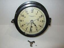 """Chelsea Clock Co. Boston U.S. Government Clock 6"""" Dial"""
