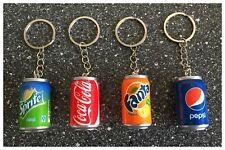 Porte clé canette Coca Cola, Sprite, Fanta, Pepsi