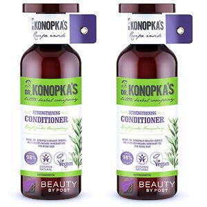 Dr. Konopka's Natural STRENGTHENING CONDITIONER for weak hair Pack of 2