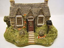 "Lilliput Lane ""The Carrick House"" #485 Scottish Collection 1980 Eegg Mib"