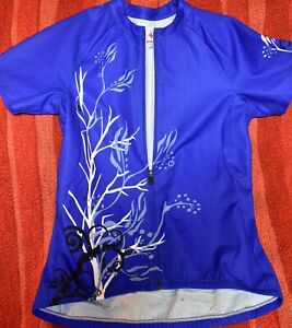 WOMEN'S SPECIALIZED CYCLING JERSEY SIZE LARGE FULL ZIP