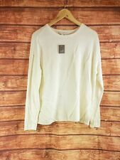 New J Jill Cream Carly Pullover Top - All Sizes