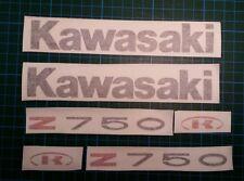 Kit Pegatinas Adhesivos Kawasaki Z 750  Medida Original Sticker Aufkleber Autoco