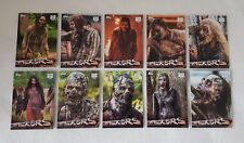 Topps Walking Dead Season 7 Walkers Complete Trading Card Chase Set