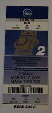 2006 NCAA TOURNAMENT 1st Round TICKET (Kentucky/Nova/UConn/Arizona/Wisconsin/+)