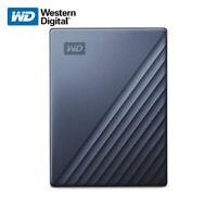 WD 2TB 4TB 5TB My Passport Ultra External Portable Drive USB-C USB3.1 Blue