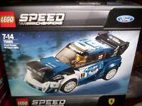 FORD - FIESTA M SPORT WRC - LEGO SERIE SPEED CHAMPIONS
