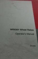 Case Ih Wrx201 Wheel Rakes Operators Manual