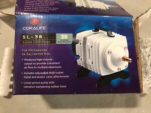 Coralife SL-38 Super Luft Pump Aquarium