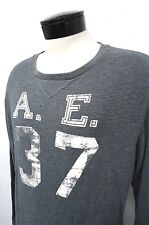 AE American Eagle gray waffle thermal shirt sz XL mens #912