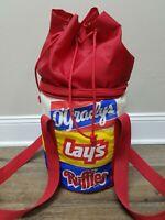 Vintage O'Gradys Lays Ruffles Soft Cooler Party Potato Chip Promo Advertising