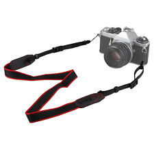 New Mirrorless Camera Shoulder Neck Belt Strap for Canon Sony Nikon Black + Red