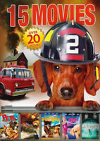15-MOVIE (ADVENTURES OF BAILEY / PETS TO THE RESCUE ....... A 2ND CHANCE / (DVD)