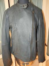 Free People Reminiscent Motorcycle Lamb Leather Jacket-8