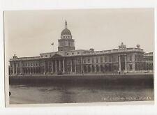 The Custom House Dublin Ireland Vintage RP Postcard 349a