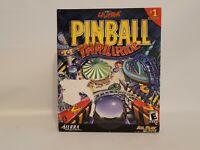 3-D ULTRA PINBALL THRILLRIDE PC/MAC CDROM BIG BOX VINTAGE PREOWNED