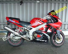 For Kawasaki NINJA ZX6R 98 99 ZX 6R 636 ZX-6R ZX636 1998 1999 Red Black Fairings
