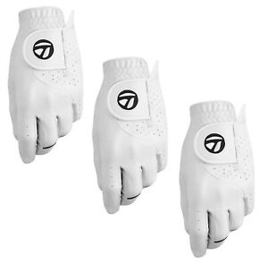 TAYLORMADE STRATUS TECH MENS GOLF GLOVE (3 PACK) - NEW - PICK HAND & SIZE