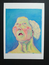 MARIA LASSNIG, exhibition art card, Tate gallery, Liverpool, 2016
