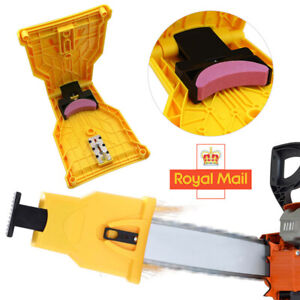 Chainsaw Teeth Sharpener Grinder Saw Chain Sharpening Abrasive Tool W/ Stone Kit