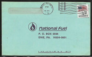 2115 Erie Blue Variety 22 Cent Flag Over Capitol On Cover