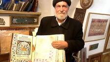 Passover Haggadah,spectacular paintings, decorations handwritten Torah judaica