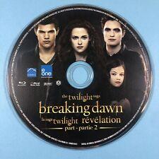 *DISC ONLY* The Twilight Saga: Breaking Dawn - Part 2 (Blu-ray, 2013, Canadian)