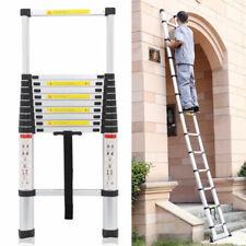 3.2m Portable Heavy Duty Multi-Purpose Aluminium Telescopic Ladder Extendable  A