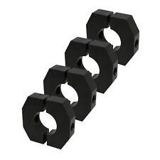 "4 New 1.50"" 1-1/2"" Aluminum Weight Ballast Clamp & Shock Mount Brackets IMCA"
