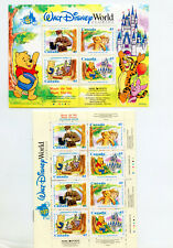 Canada 1618-1621 Disney Winnie the Pooh, Souv. Sheet + Complete Booklet MNH