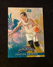 2013/14 Crusade OMER ASIK Teal #193/249 Made Rockets #80 - Panini