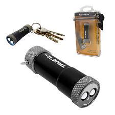 Portachiavi con torcia 2 LED 3 batterie piatte incluse TRUE UTILITY