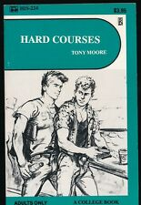 HARD COURSES 1980s Surey Books HIS Gay Pulp Fiction Paperback PBO Novel NM