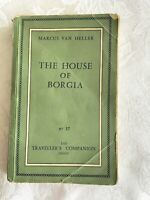 """Dirty Book"" The House of Borgia, Von Heller, 1957, 1st, Traveller's Companion"