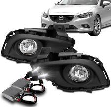 for 2010 2011 2012 Mazda CX7 left driver fog lamp fog light cover BLK 10 11 12