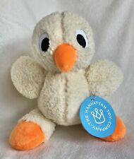 """THE MANHATTAN TOY COMPANY FLOPPIES BUNNY CHICK 8"""" PLUSH TOY!!"""