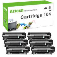 6PK Toner Compatible for Canon 104 FX-9 FX10 ImageClass MF4350D MF4150 D420 D480