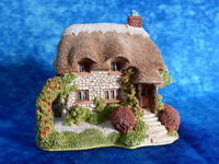 LILLIPUT LANE Wight Cottage 1989 [Isle of Wight] Handmade Model / Ornament (#2)
