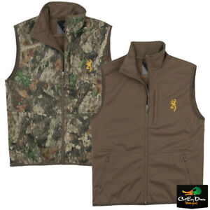 NEW BROWNING WINDPROOF SOFTSHELL VEST