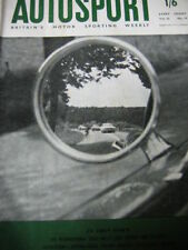 Autosport May 12th 1961 *Tulip Rally & Targa Florio*