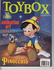 TOYBOX Toy collector Magazine Animation art Trolls Pinocchio Fall 1993 Dolls /q7