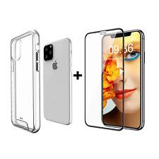 Coque pour IPHONE 11 PRO MAX + Verre Trempé 4D, Protection Ecran Vitre Film Cou