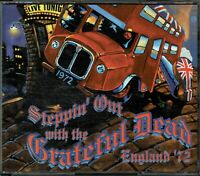 Steppin' Out with the GRATEFUL DEAD, England '72 4 CDs Perfect Condition Booklet