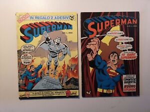 SUPERMAN N. 1-2 CENISIO ITALIA 1976